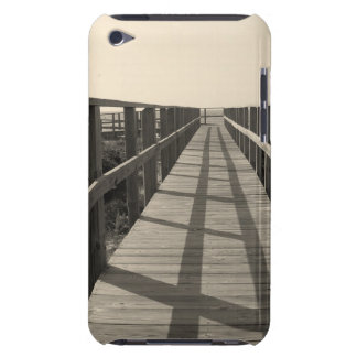 Beach Walk in Sepia iPod Touch Case