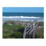 beach walk postcards