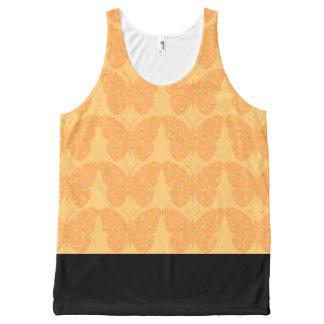 Beach-Ware-Butterflies--Cream-Pop(c)--Tank-Top All-Over Print Tank Top