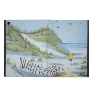 Beach watercolor cover for iPad air