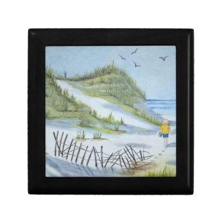 Beach watercolor gift box