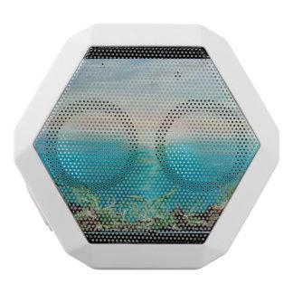 beach wave,Boombot REX,iPods, smartphones, tablet White Bluetooth Speaker