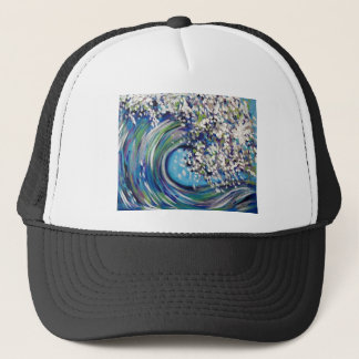 BEACH WAVE TRUCKER HAT