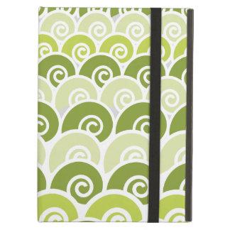 Beach Waves Green iPad Air Case