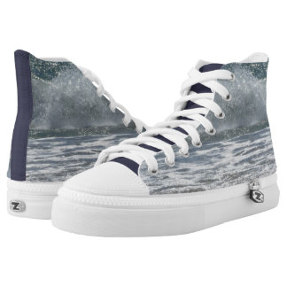 Beach Waves Printed Shoes