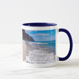 Beach Wedding Backdrop Mug