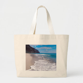 Beach Wedding Backdrop Ocean Shoreline Photo Jumbo Tote Bag