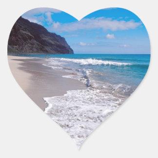 Beach Wedding Backdrop Wedding Hearts Heart Sticker