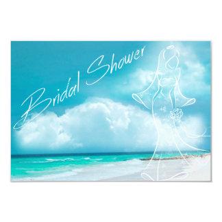 Beach Wedding Bridal Shower Invitation Custom Announcements