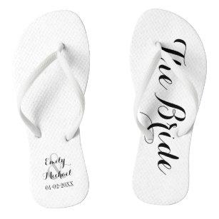 876ee839a39d9 Grooms Wedding Party Flip Flops   Sandals