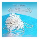Beach Wedding Invitation -SEA SHELL/BEACH