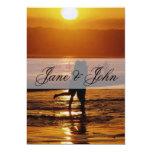 Beach Wedding Personalized Invitations