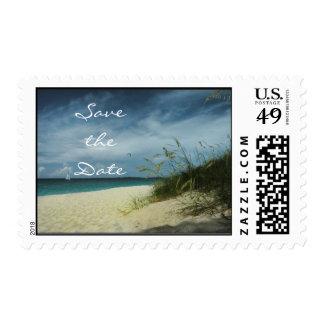 Beach Wedding Save the Date Postage