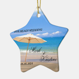 Beach Wedding Souvenirs and Giveaways Ceramic Star Decoration