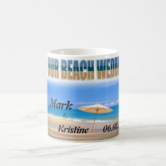 Beach Wedding Souvenirs and Giveaways Mugs