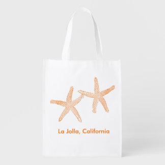 Beach Wedding Welcome Bag (Orange Starfish)