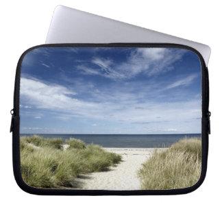 Beach, Welfleet MA Laptop Sleeve