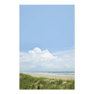 Beach with Sand Dune Personalised Stationery