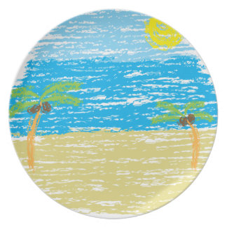 BeachBumLife Plate