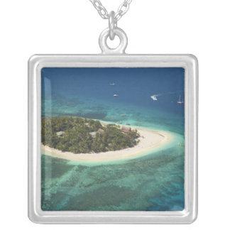 Beachcomber Island Resort, Fiji Silver Plated Necklace