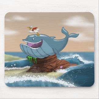 Beached Whale Mousepad