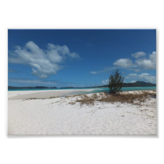Beaches and Blue skies Photo Print