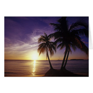 Beaches at Negril, Jamaica 3 Card