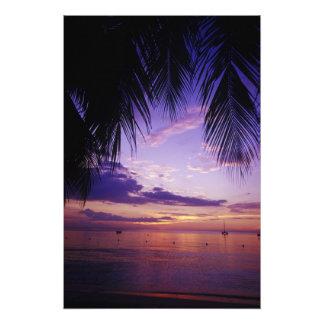 Beaches at Negril Jamaica 3 Photo Print