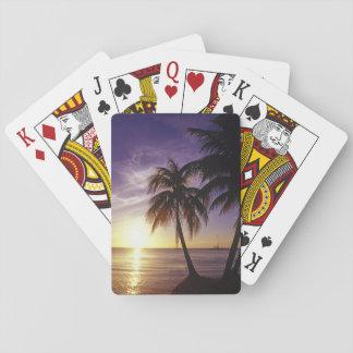Beaches at Negril, Jamaica 3 Poker Deck