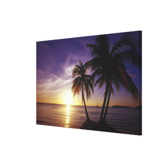 Beaches at Negril, Jamaica Canvas Print