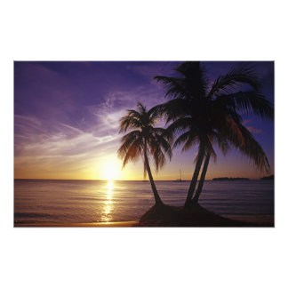 Beaches at Negril Jamaica Photo Print