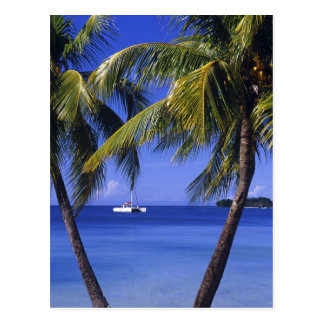 Beaches at Negril, Jamaica Postcard