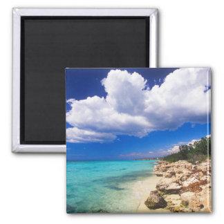 Beaches, Barahona, Dominican Republic, 2 Magnet