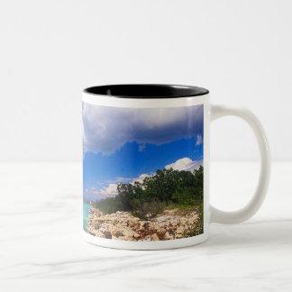 Beaches, Barahona, Dominican Republic, 2 Two-Tone Coffee Mug