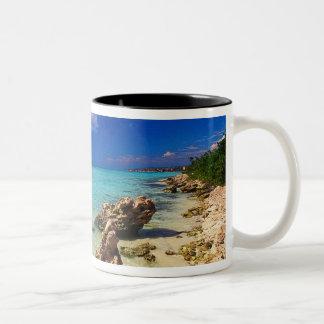 Beaches, Barahona, Dominican Republic, 3 Two-Tone Coffee Mug