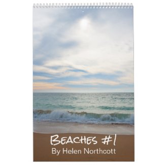 Beaches Calendar #1 (Medium A3)
