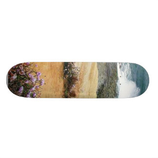 Beaches Ocean Waves Sandstone Skate Deck