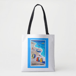 Beaches of France Tote