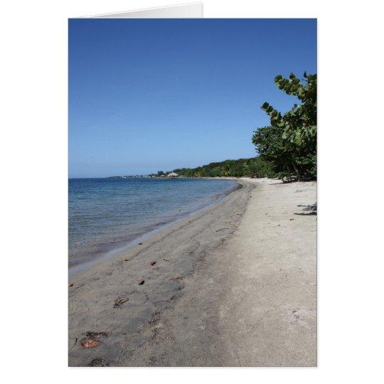 Beaches of Roatan Notecard