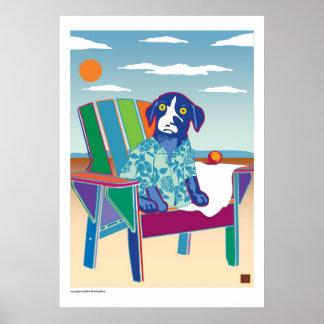 Beachin -Print