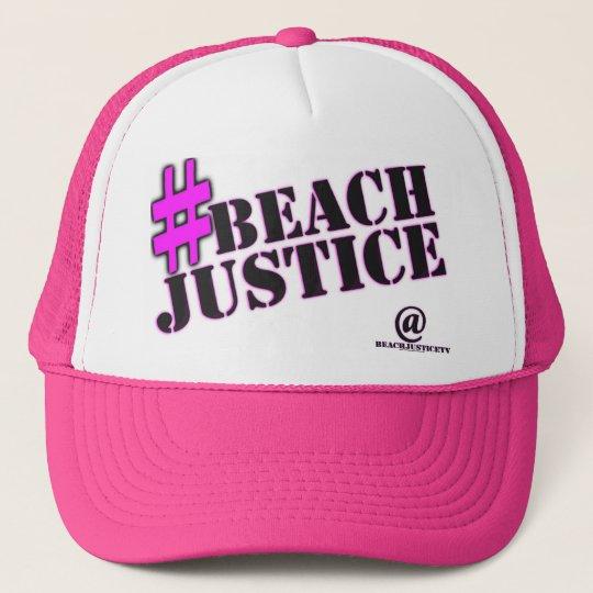 #BEACHJUSTICE Girl'ish Trucker Hat