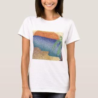 beachmarkerstipple.jpg T-Shirt