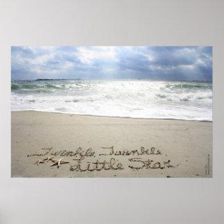 Beachwrite s Twinkle Twinkle Poster