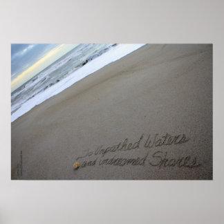 Beachwrite's Shakespeare Unpathed Waters Poster