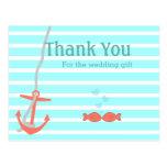 Beachy Anchor Thank You