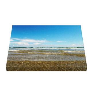 Beachy Blue Gallery Wrap Canvas