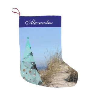 Beachy Christmas Stocking
