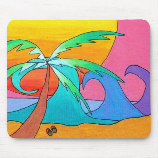 Beachy Day Mouse Pad