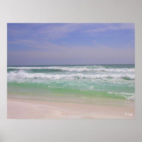 Beachy Destin, S Cyr Poster