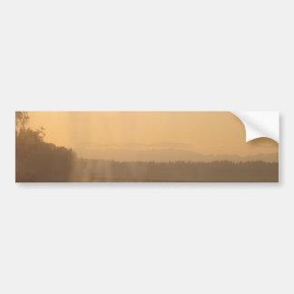 Beachy Morning Bumper Sticker